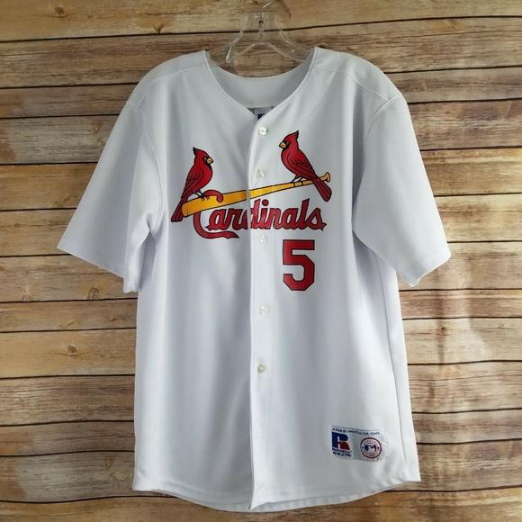 new concept 758f1 a1e7a Pujols St Louis Cardinals Jersey